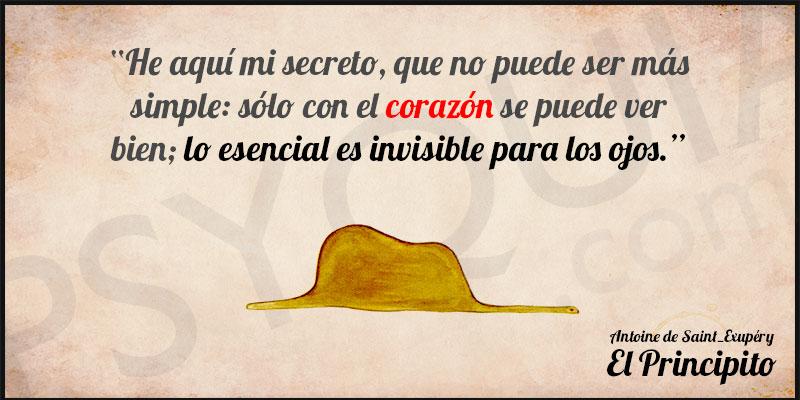 Lo Esencial es Invisible para los ojos